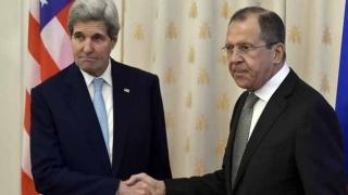 Lavrov și Kerry au convenit asupra retragerii combatanților din Alep