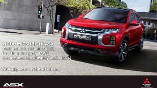 Noua generație Mitsubishi ASX (MY 20) Impact și impuls