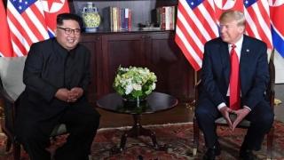 """Summit-ul din Singapore la final: Trump și Kim, legătură """"""""foarte specială"""""""