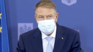 Klaus Iohannis: ne așteptăm ca prima tranșă de vaccin să ajungă în primul trimestru al anului viitor