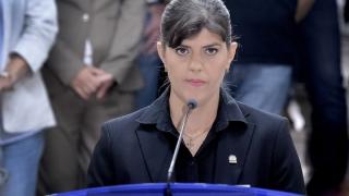 Laura Codruţa Kovesi s-a prezentat, marţi, la sediul Inspecţiei Judiciare