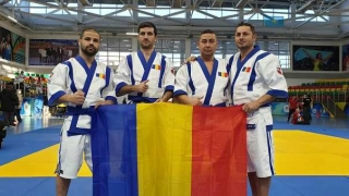 Romȃnia a participat la Campionatul Mondial de Qazaq Kuresi