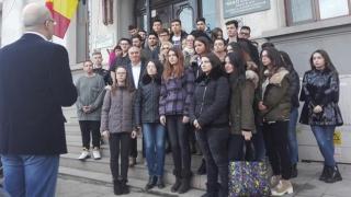 "Moment de reculegere la Colegiul Național ""Mihai Eminescu"""