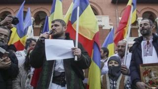 """Proteste la proiecţia filmului """"Soldaţii. Poveste din Ferentari"""" de la MNŢR"""