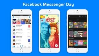 "Facebook a lansat ""Messenger Day"" pentru a rivaliza cu Snapchat"