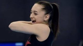 Larisa Iordache, medalie de aur la paralele, la FIG World Challenge Cup