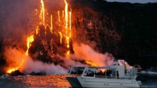 Vulcanul Kilauea activ după un cutremur în Hawaii. 2000 de oameni evacuați din calea lavei