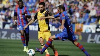 Atletico Madrid a învins cu 1-0 pe Levante în campionatul Spaniei