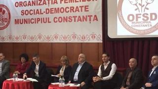 Femeile social democrate din Constanța și-au votat liderul