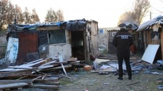 Acțiune de desființare a locuințelor improvizate, la Constanța