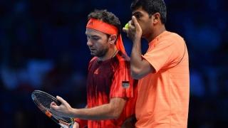 Mergea și Bopanna, eliminați în sferturi la Roland Garros