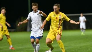 Louis Munteanu a înscris pentru România U19