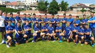 """LPS """"Nicolae Rotaru"""" Constanţa, vicecampioană naţională la rugby U16"""