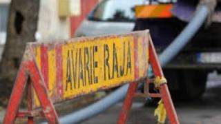 Circulație îngreunată pe unele străzi, din cauza unei avarii la o conductă de apă