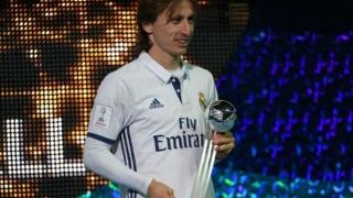 Luka Modric, fotbalistul anului în Croația