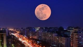 Luna de Zăpadă, cea mai mare și mai strălucitoare lună plină a anului