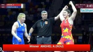 Încă o medalie pentru România la CE de lupte