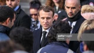 Emmanuel Macron vizat de un atac violent. Șase suspecți arestați