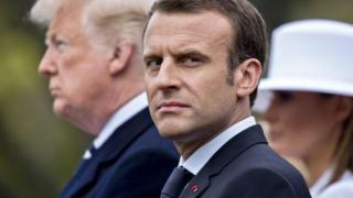 Emmanuel Macron se opune unui tratat comercial cu SUA, sub amenințări