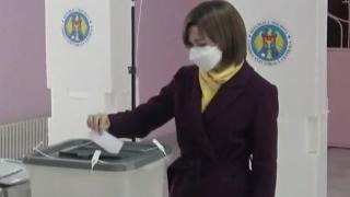 Maia Sandu a câștigat alegerile prezidențiale din Republica Moldova