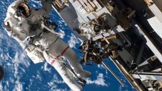 Mai puţini ruşi în echipajul de pe ISS