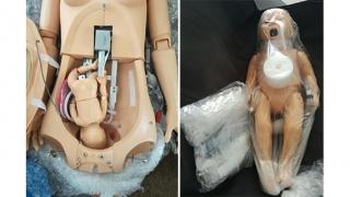 Manechin medical... însărcinat, la dispoziția paramedicilor