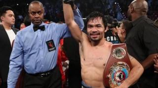 """Manny Pacquaio e """"senator"""" și în ring"""