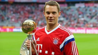 Manuel Neuer, cel mai bun portar din 2015