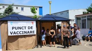 Maraton de vaccinare în Campusul social Henri Coandă din Constanța