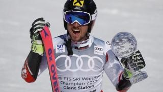 Marcel Hirscher, victorios în ultimul slalom uriaș al sezonului