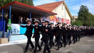 Eminescu, omagiat la Iași de militarii din Forțele Navale Române