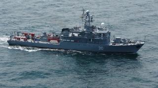 Marinari români, instruiți în Marea Mediterană