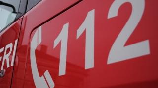 O gravidă a ajuns la spital cu ajutorul pompierilor