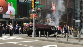 Mai mulți răniți în SUA, după ce o mașină a intrat în pietoni în Times Square