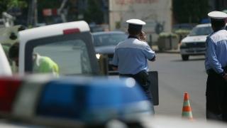 Cinci autoturisme au fost distruse de un șofer băut