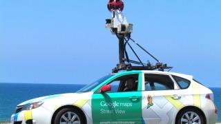 Maşinile Google Street View vor actualiza imaginile în peste o sută de localităţi din România