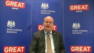 Ambasadele Marii Britanii și Franței la București celebrează Ziua Culturii Naționale