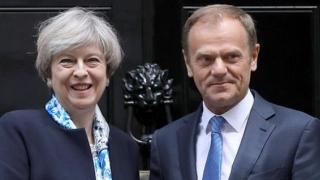 May îi cere lui Tusk amânarea Brexit-ului până la 30 iunie