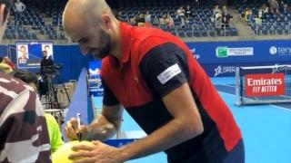 Marius Copil a urcat zece locuri în clasamentul ATP