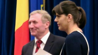 Augustin Lazăr şi Laura Codruţa Kovesi, la Ministerul Justiţiei pentru discuţii despre MCV