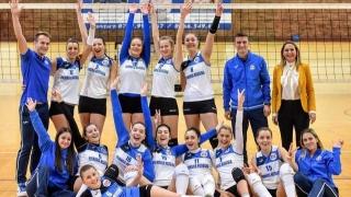 CS Medgidia, fără set pierdut în Divizia A2 la volei feminin