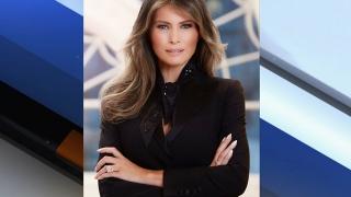 Primul portret oficial al Primei Doamne Melania Trump suscită controverse