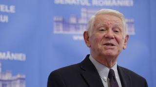 CCR dezbate sesizarea privind alegerea lui Meleşcanu la şefia Senatului