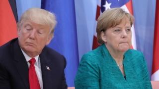 Merkel îl avertizează dur pe Trump: SUA riscă pierderea aliaţilor din Europa! Relaţie prea bună cu Putin?
