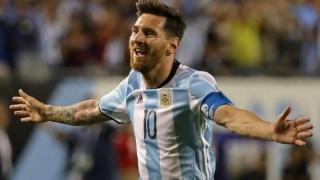 Sâmbătă intră în cursă şi Argentina lui Messi