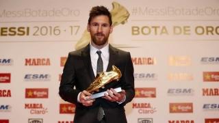 Messi l-a egalat pe Ronaldo la capitolul Ghete de Aur