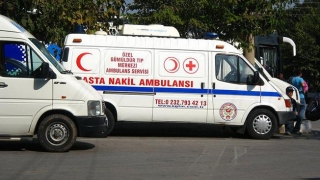 Microbuz răsturnat în Turcia! Era plin cu români!
