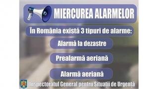 """""""Miercurea Alarmelor"""" continuă și în 2019"""