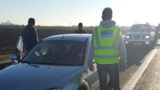 Traficant de migranți bulgar, descoperit pe autostrada A2
