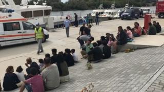 Protecția statului român, cerută de clandestinii sosiți în Portul Constanța